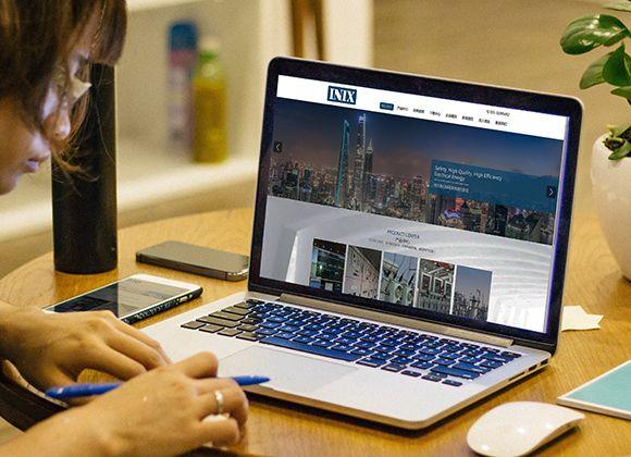 INIX企业品牌官网设计